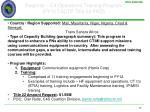regional c4 operations training program fy12 tsctp title 22 pko