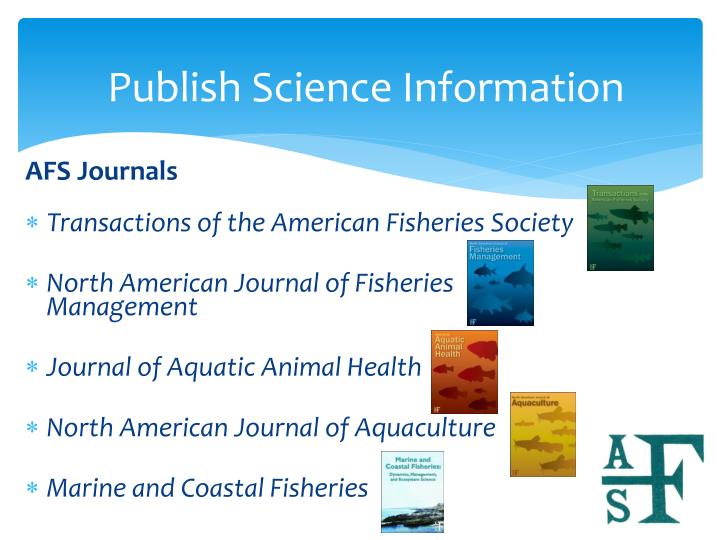 Publish Science Information