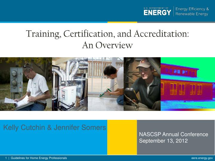 training certification and accreditation an overview n.