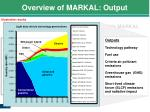 overview of markal output2