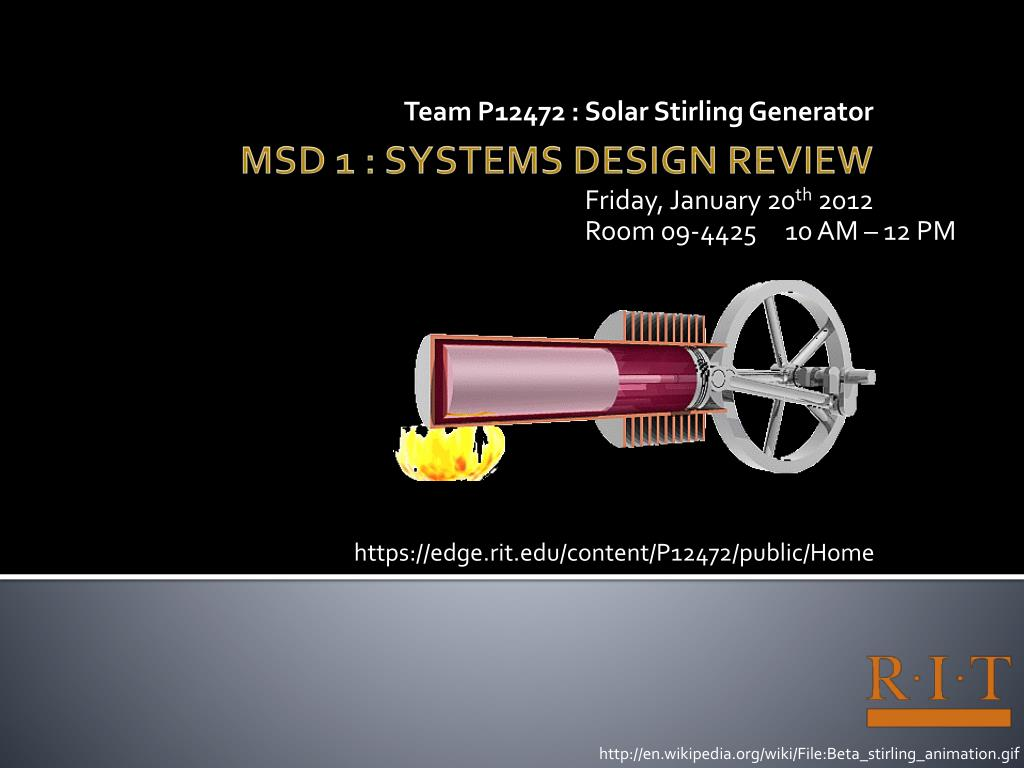 Ppt Msd 1 Systems Design Review Powerpoint Presentation Free Download Id 1599365