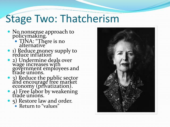 Stage Two: Thatcherism