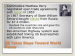 us takes steps toward world power