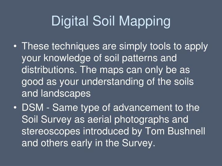 Digital soil mapping1