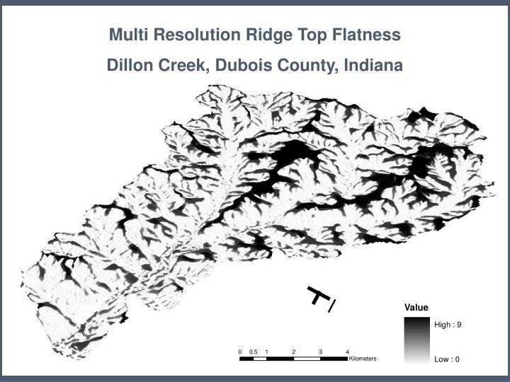 Multi Resolution Ridge Top Flatness