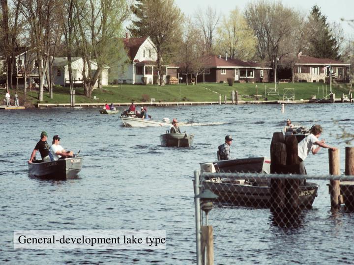 General-development lake type