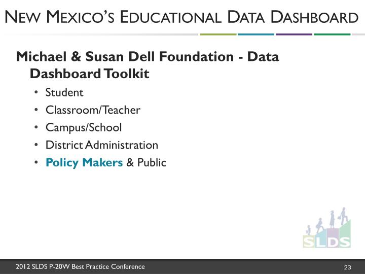 New Mexico's Educational Data Dashboard