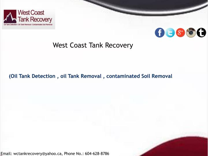 oil tank detection oil tank removal contaminated soil removal n.