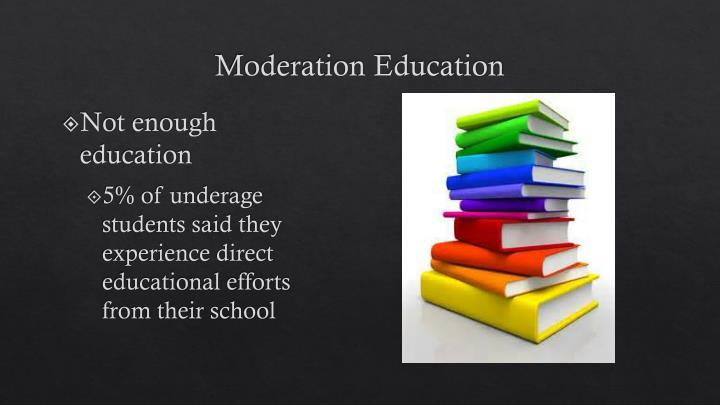 Moderation Education