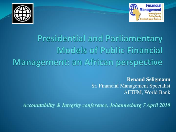 presidential and parliamentary models of public financial management an african perspective n.