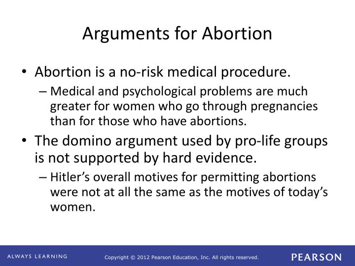 argument for abortion