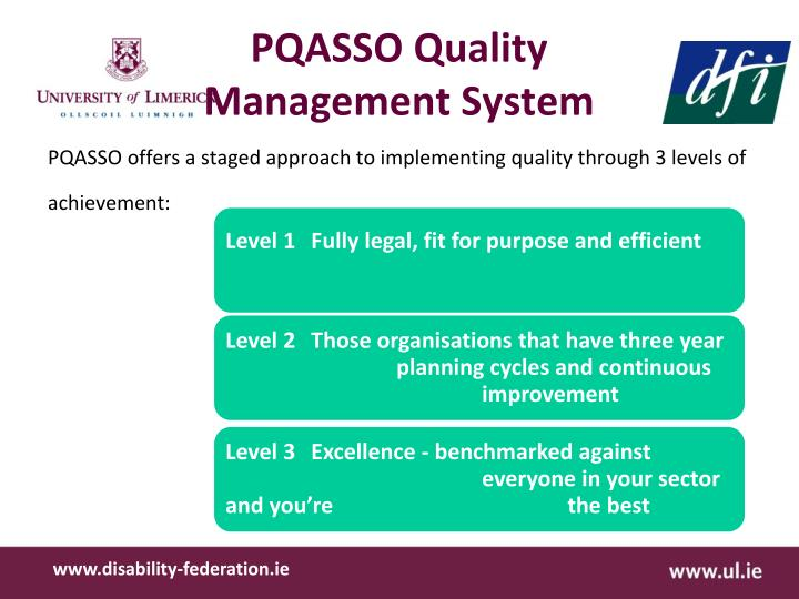 pqasso practical quality assurance system for Pqasso stands for practical quality assurance system for small the pqasso quality mark is a new external assessment factsheet 19 quality assurance_0.