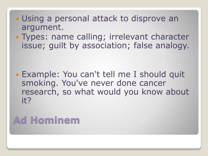 Ppt Logical Fallacies Powerpoint Presentation Id1601144