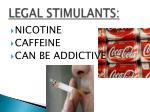 legal stimulants