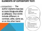 elements of expository text2