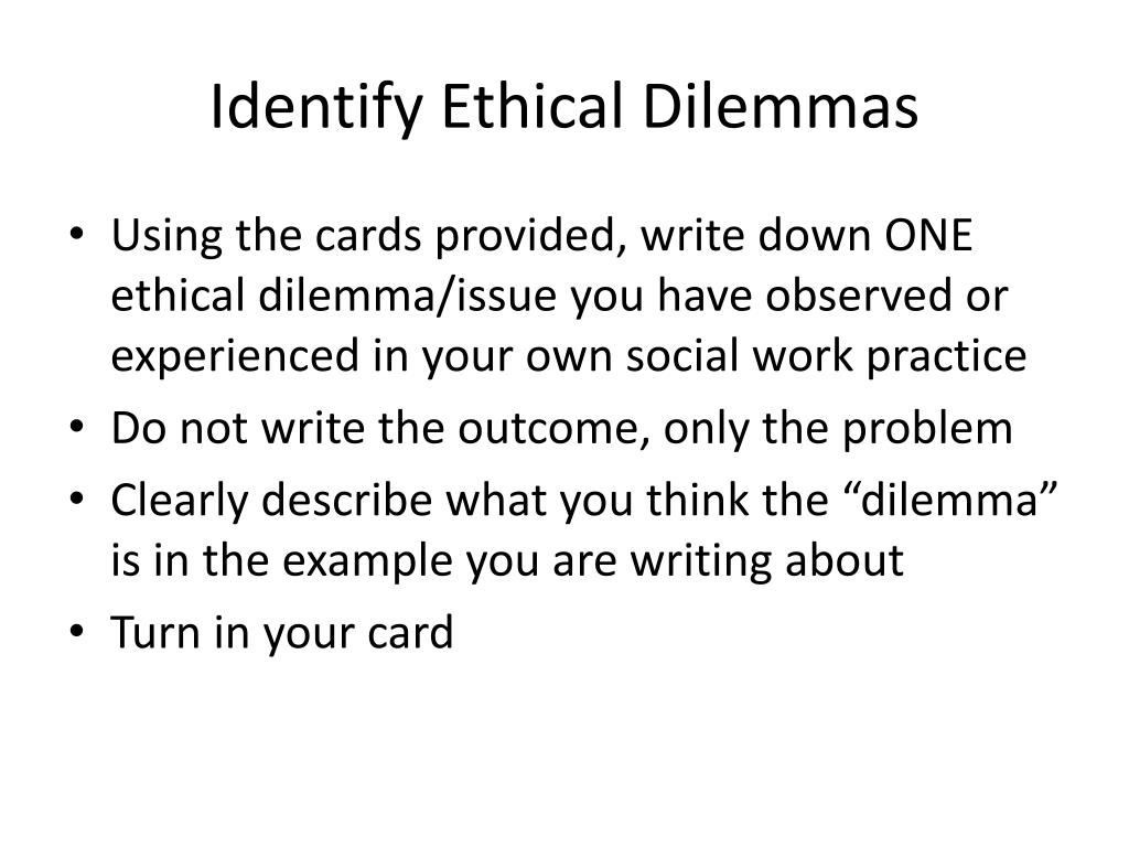 PPT - Ethical Social Work Practice: Fact or Fiction? PowerPoint