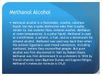 methanol alcohol