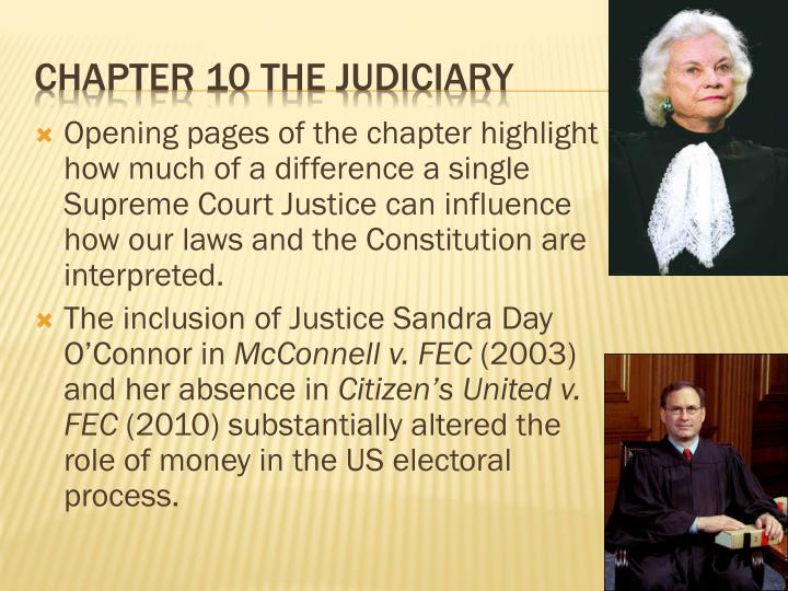 chapter 10 the judiciary n.