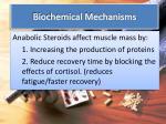biochemical mechanisms