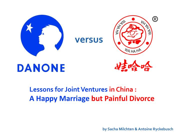 the danone wahaha dispute Schriver says the discussions covered numerous issues but focused on the disputed south china sea, where chinese military activity is viewed by washington as irresponsible and beijing complains of an inappropriate us military presence mattis asserted that the us view is widely shared in the region.