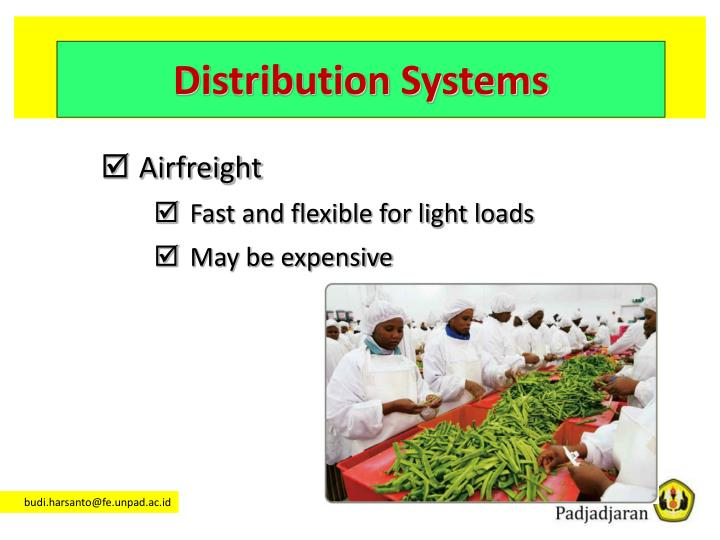 Distribution Systems