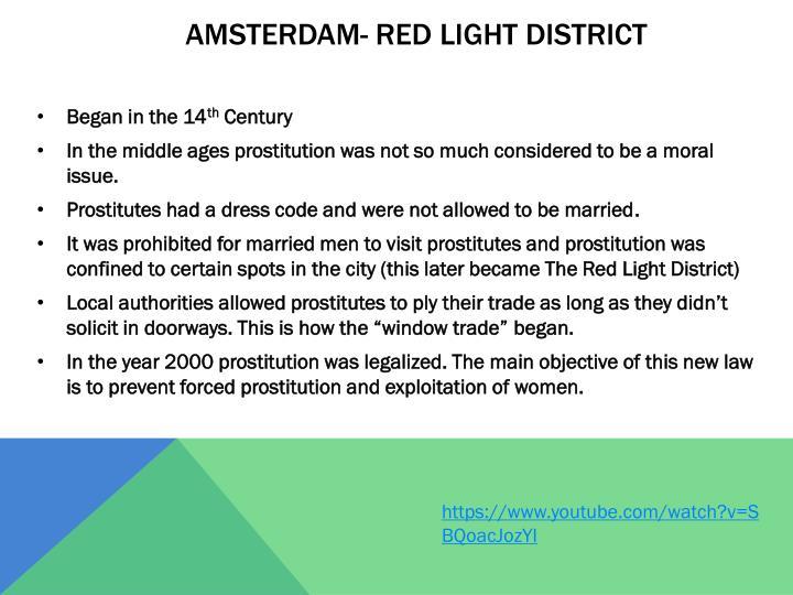 Amsterdam- Red Light district