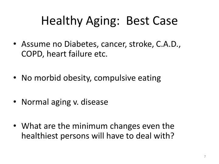 Healthy Aging:  Best Case