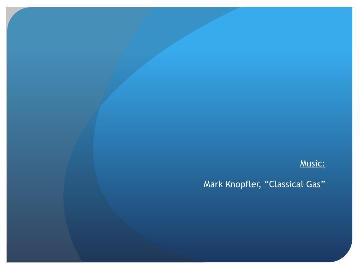 Music mark knopfler classical gas