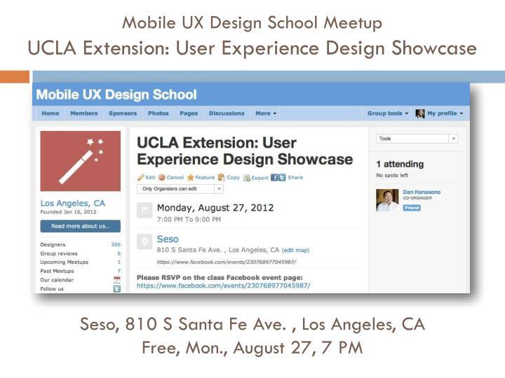 Mobile UX Design