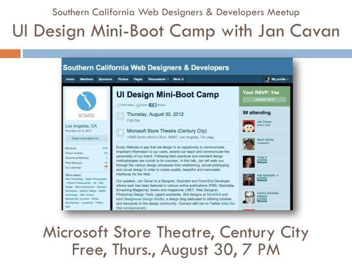 Southern California Web Designers &