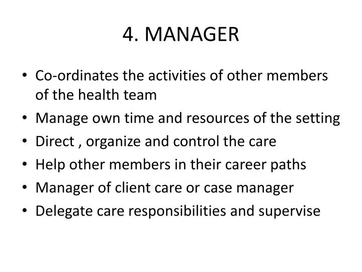 4. MANAGER