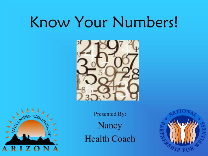 know your numbers n.