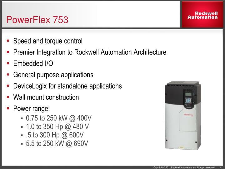 ppt powerflex 750 series ac drives powerpoint