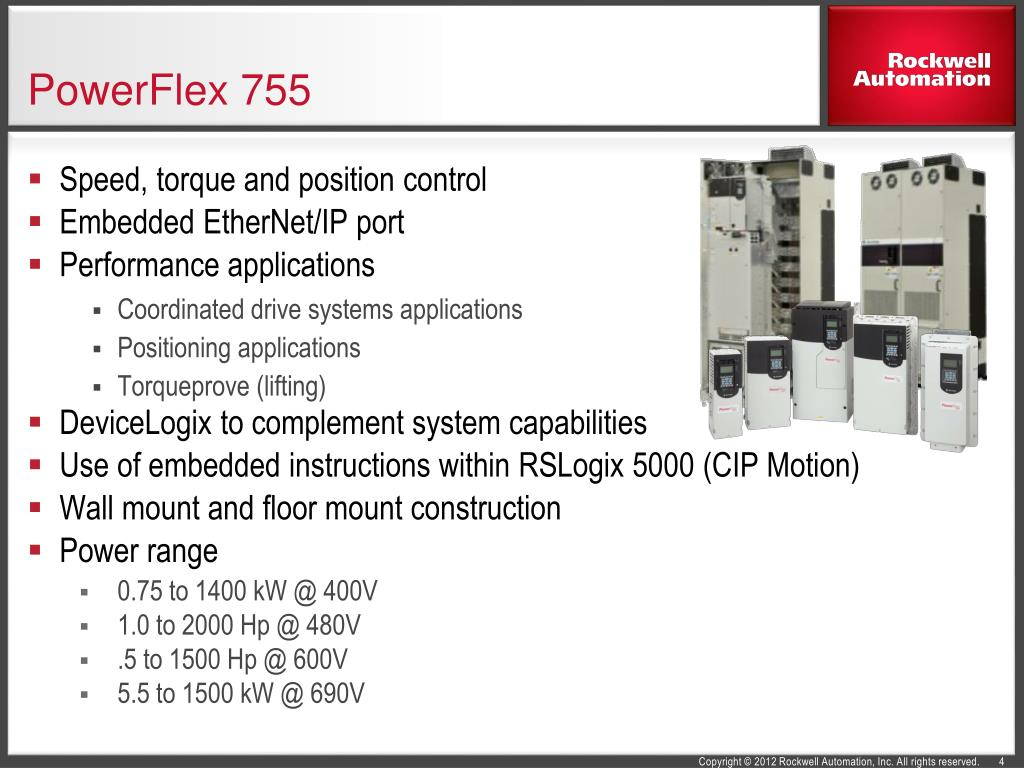 PPT - PowerFlex 750-Series AC Drives PowerPoint Presentation - ID