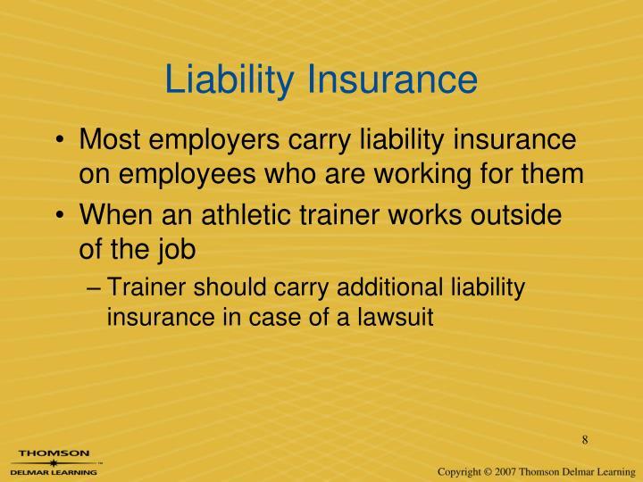Liability Insurance