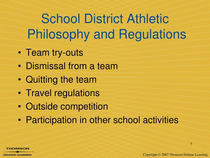 School District Athletic