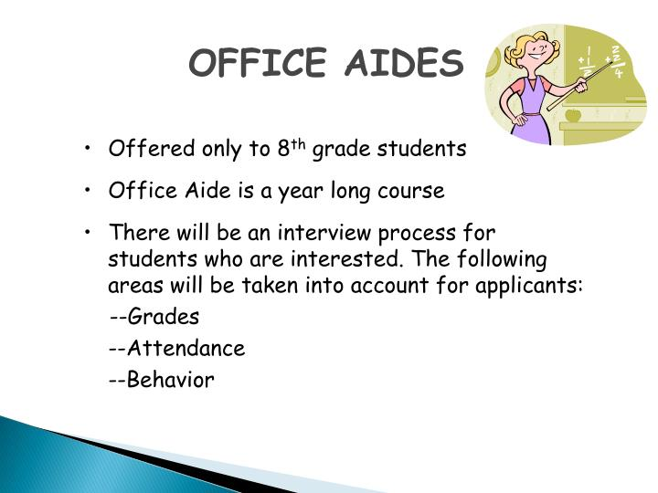 OFFICE AIDES