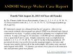 asdoh sturge weber case report13