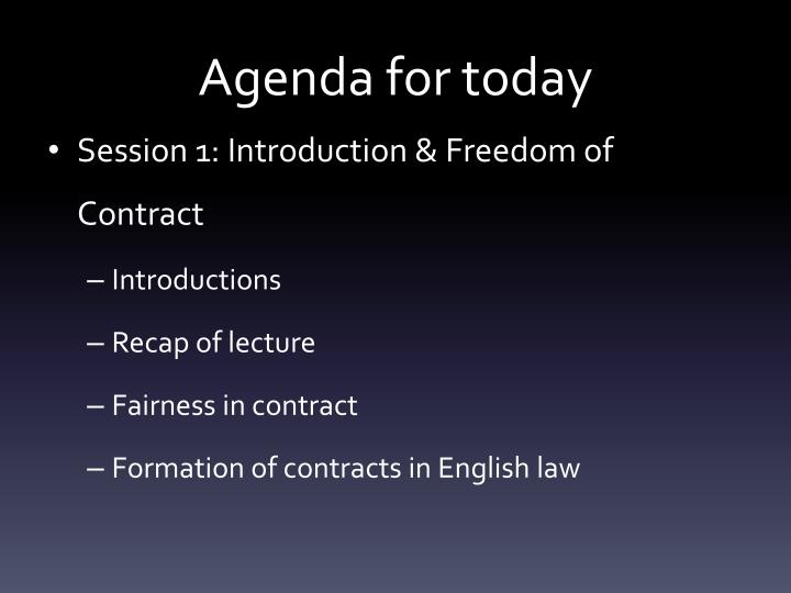 a study on contract in english law English law is based on the principle of freedom of contract which is more flexible than many civil law systems, which rely on a more rigid and prescriptive civil code in english law, a contract is generally accepted to be valid unless it is for an illegal purpose or is otherwise contrary.