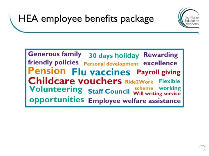 hea employee benefits package n.