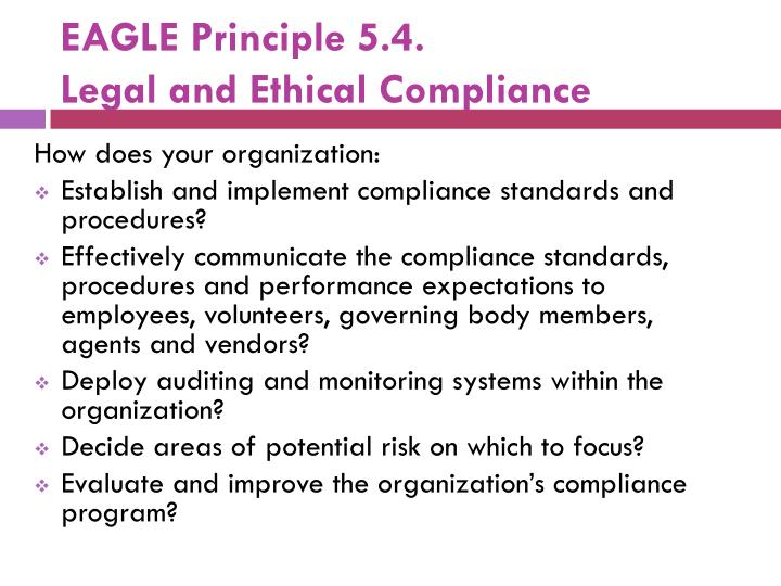 legal and ethical principles on visual Principles of effective legal writing and verbal presentations principles of problem identification, analysis and evaluation rules of evidence and conduct or proceedings in trial and appellate courts in california.