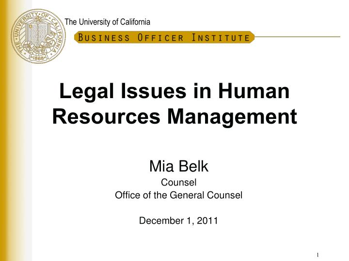 issues in human resource for kudler Legal issues in human resources management by angela t hall, phd, jd, sphr employment law instructor's manual.