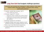 long term care food budgets challenge operators