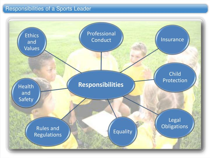 Responsibilities of a Sports Leader