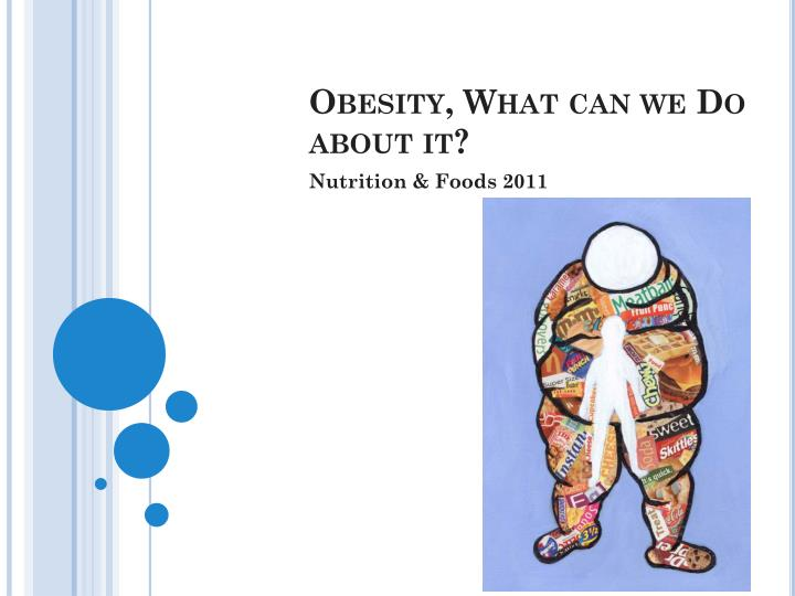 obesity what can we do about it n.