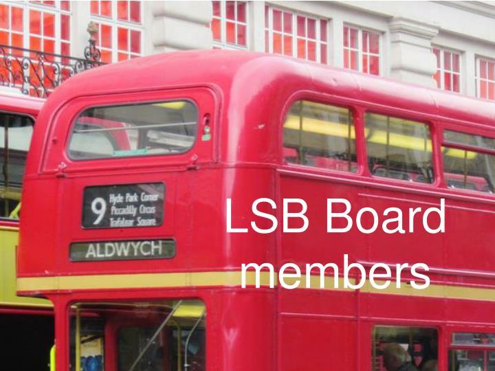 LSB Board members