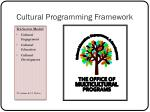 cultural programming framework