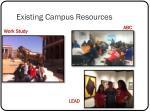 existing campus resources2