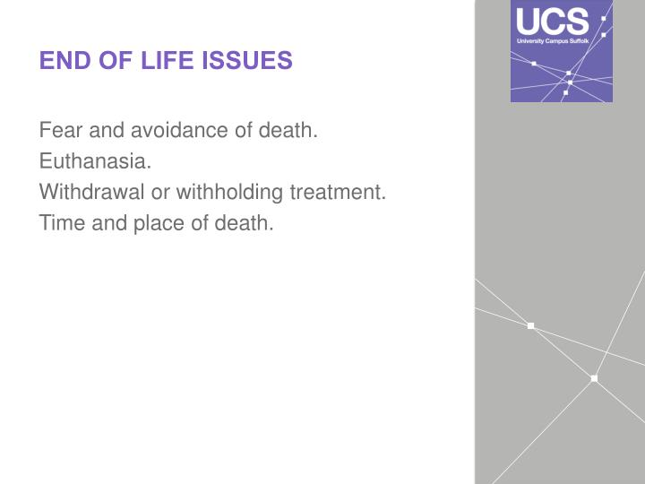 ethical issues in palliative care pdf