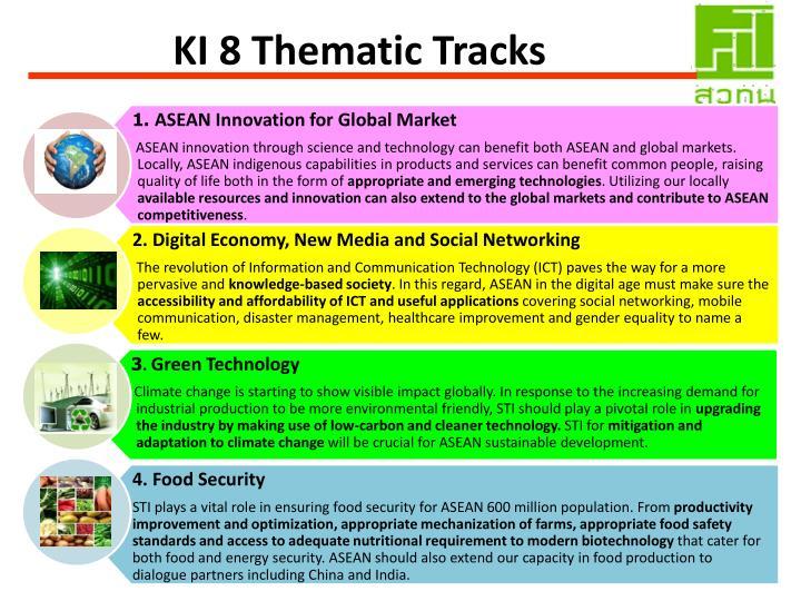 KI 8 Thematic Tracks